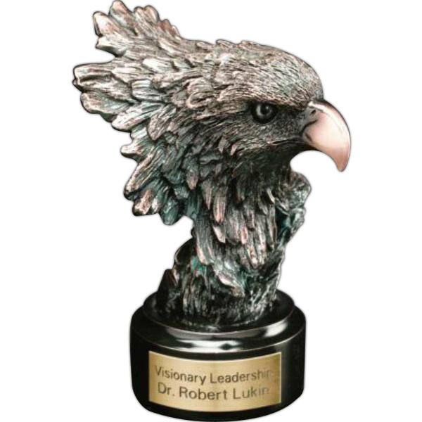 Promotional Bronze Eagle Head Award