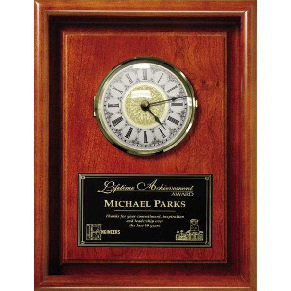 Custom Americana Framed Wall Clock