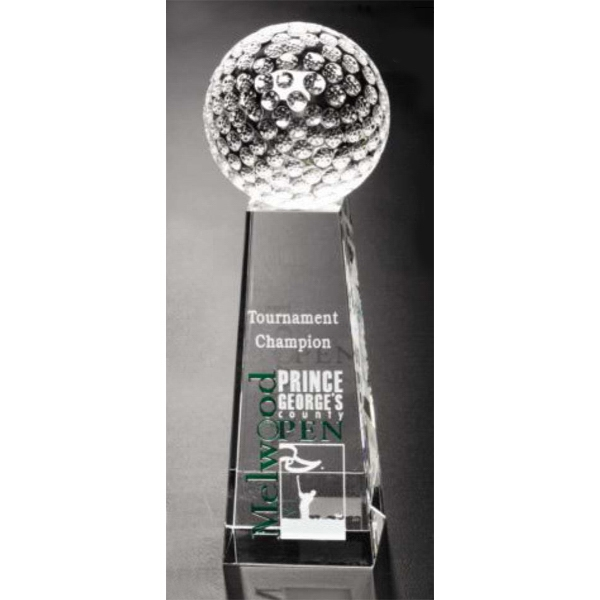 Personalized Tapered Golf Award