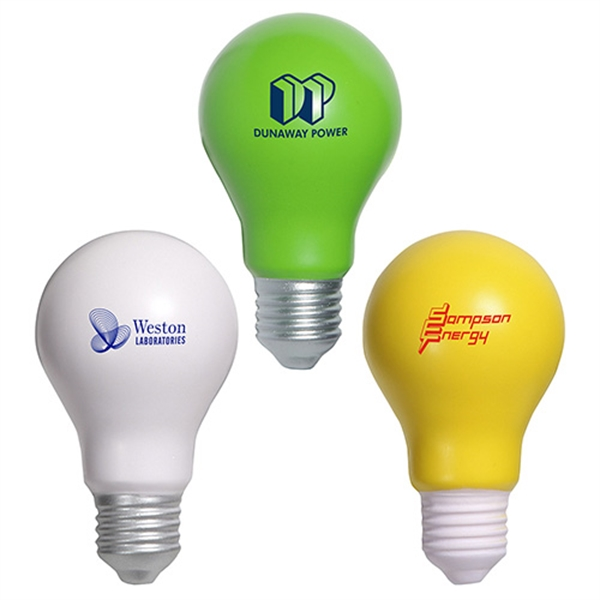 Promotional Lightbulb Stress Reliever