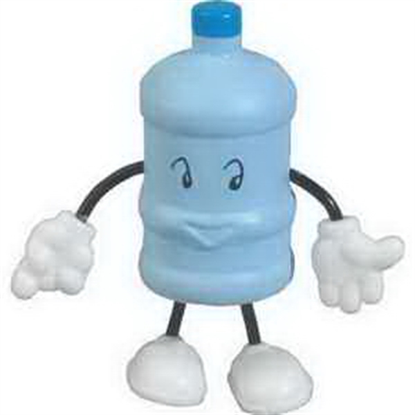 Personalized Water Bottle Figure Stress Reliever