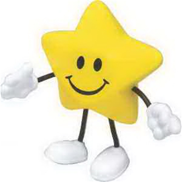 Custom Star Figure Stress Reliever