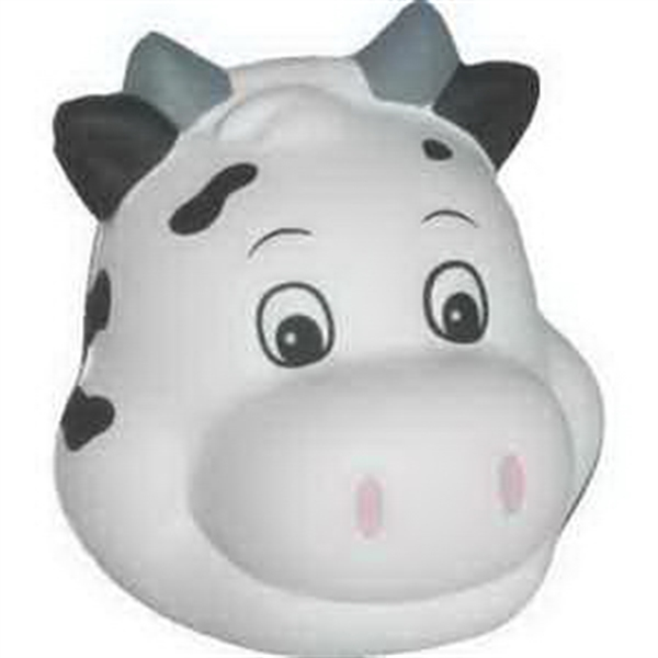 Personalized Milk Cow Funny Face Stress Reliever
