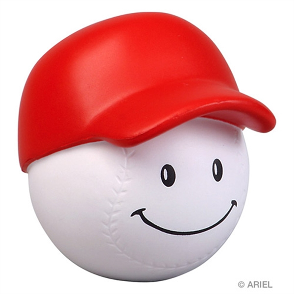 Customized Baseball Mad Cap Stress Reliever
