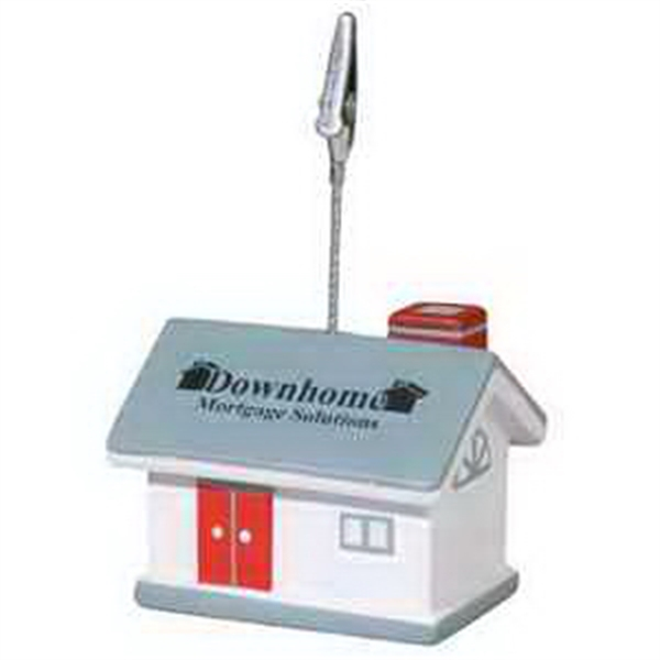 Promotional House Memo Holder Stress Reliever