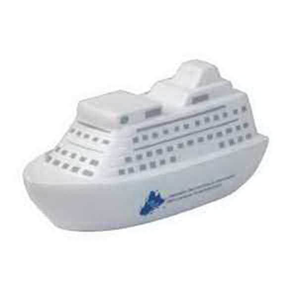 Promotional Cruise Boat Memo Holder Stress Reliever