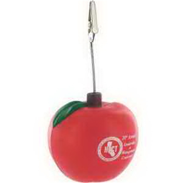 Promotional Apple Memo Holder Stress Reliever