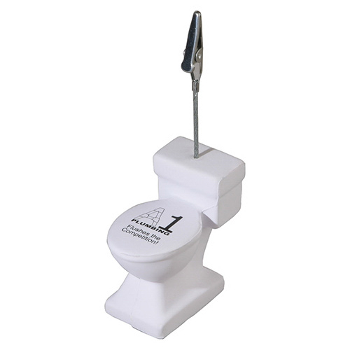 Custom Toilet Memo Holder Stress Reliever