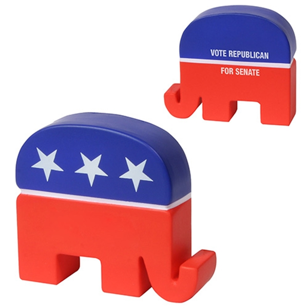 Personalized Republican Elephant Stress Reliever