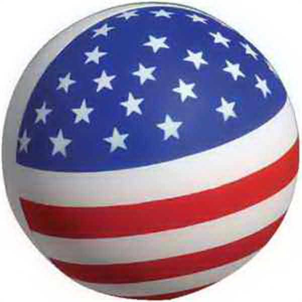 Personalized Patriotic Stress Ball Stress Reliever
