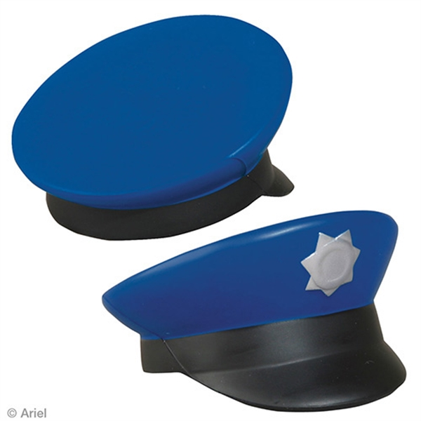 Printed Police Cap Stress Reliever