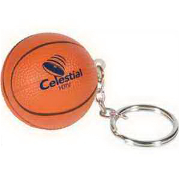 Custom Basketball Key Chain