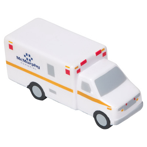 Imprinted Ambulance Stress Reliever