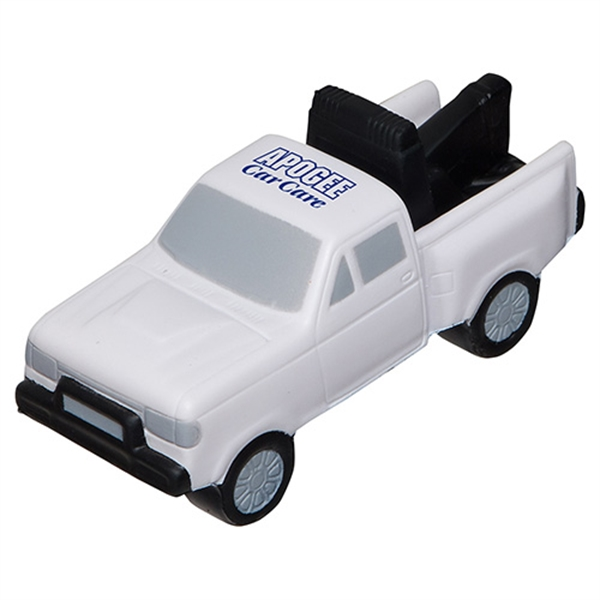 Imprinted Tow Truck Stress Reliever
