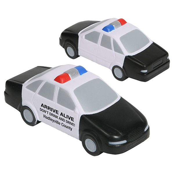 Printed Police Car Stress Reliever
