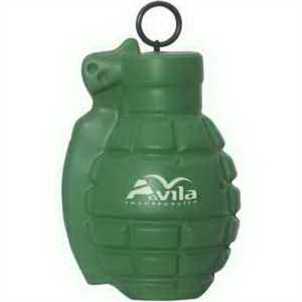 Printed Vibrating Grenade Stress Reliever