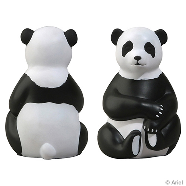 Personalized Sitting Panda Stress Reliever