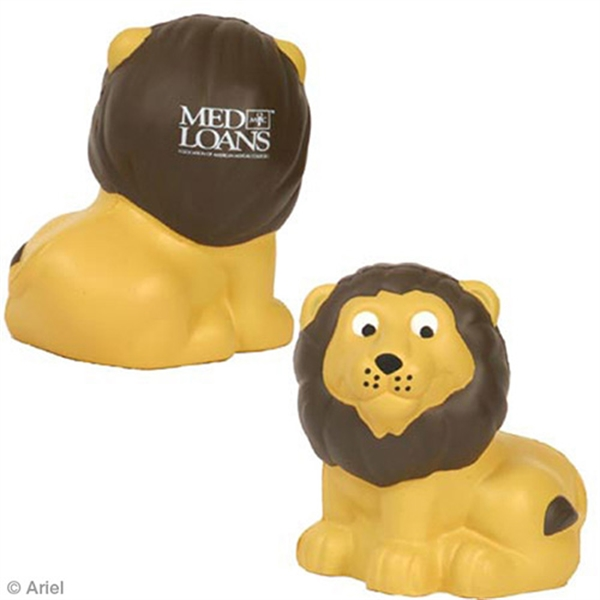 Printed Lion Stress Reliever