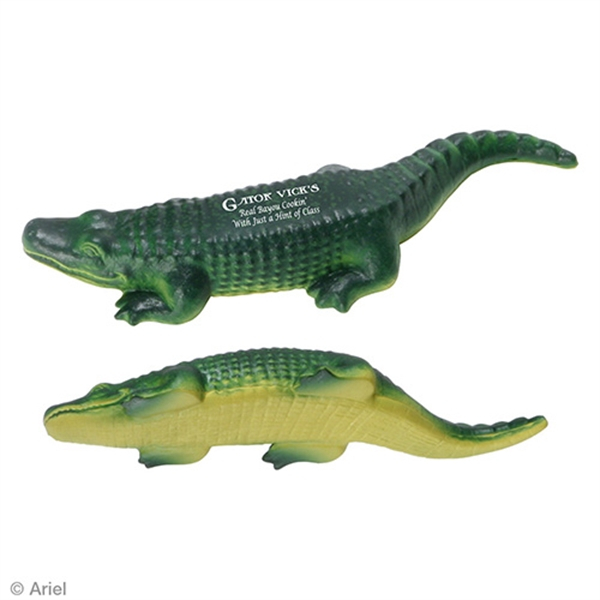Printed American Alligator Stress Reliever