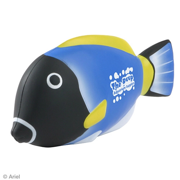 Custom Blue Tang Fish Stress Reliever