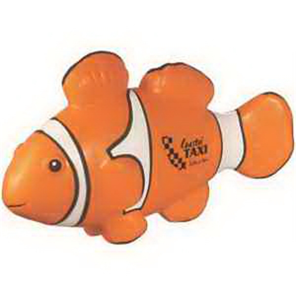 Customized Clownfish Stress Reliever