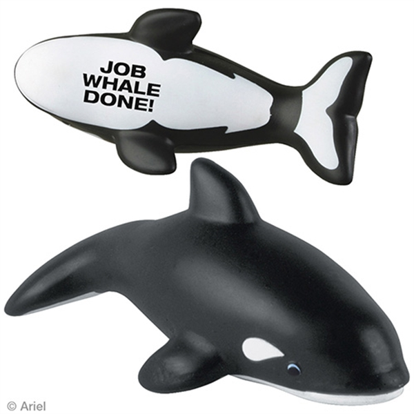 Custom Killer Whale Stress Reliever