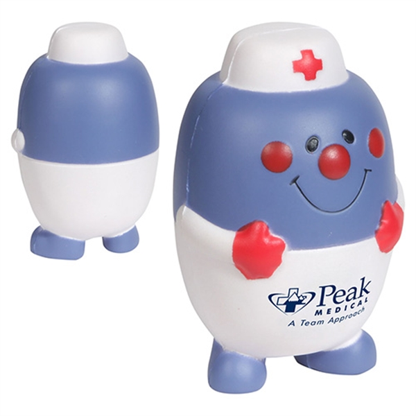 Imprinted Pill Nurse Stress Reliever