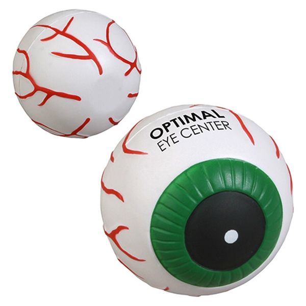 Custom Eyeball Stress Reliever