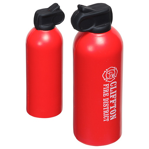 Personalized Fire Extinguisher Stress Reliever