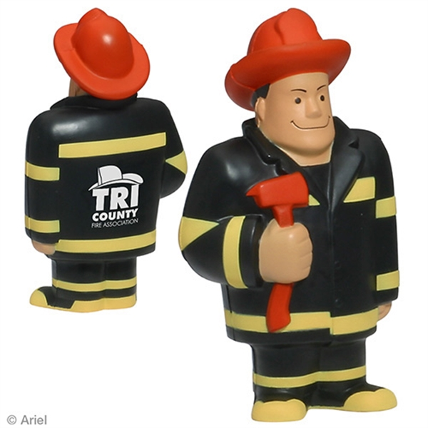 Promotional Fireman Stress Reliever
