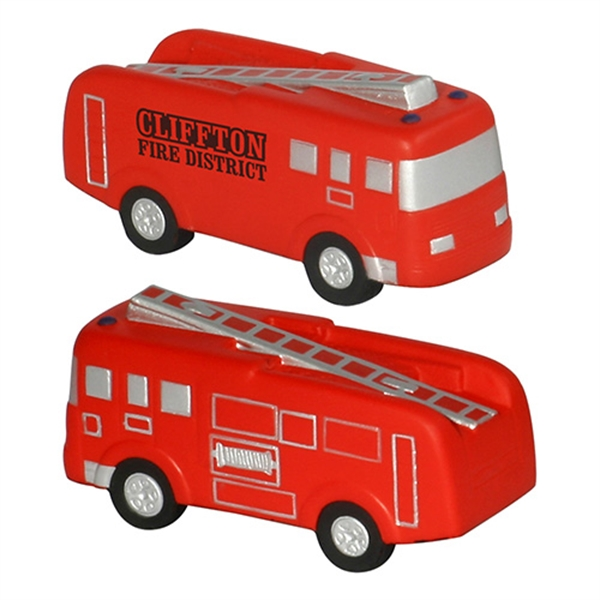Custom Fire Truck Stress Reliever