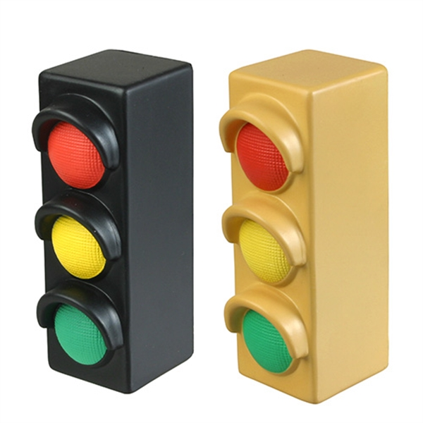Printed Traffic Light Stress Reliever