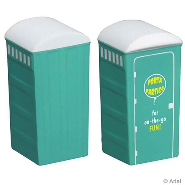 Personalized Porta-Potty Stress reliever