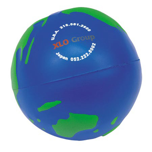 Printed Earthball Stress Reliever
