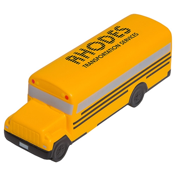 Customized Conventional School Bus Stress Reliever