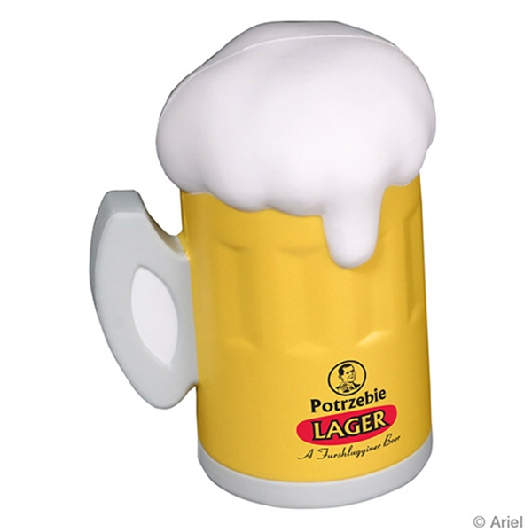 Personalized Beer Mug Stress Reliever