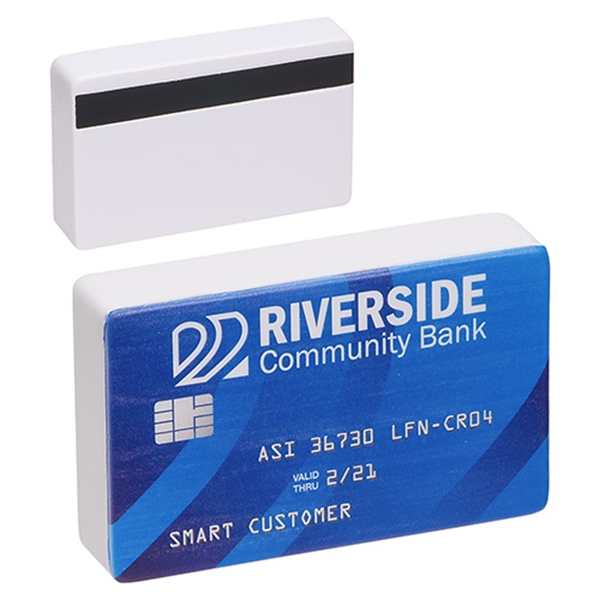 Printed Credit Card Stress Reliever