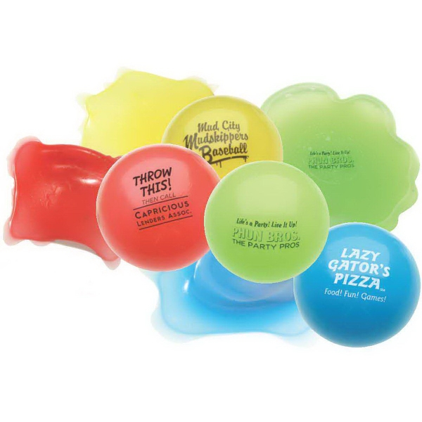 Promotional Toss N' Splat Amoeba Ball Stress reliever