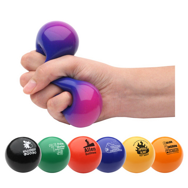 Personalized Color Changing Gel Stress Reliever