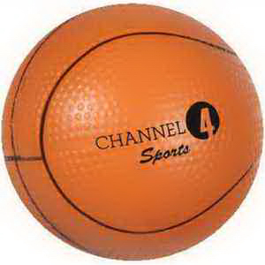 Promotional Gel-ee Grippers Basketball Stress Reliever