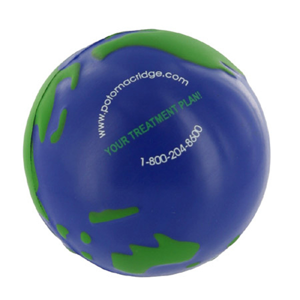 Personalized Gel-ee Grippers Earthball Stress Reliever