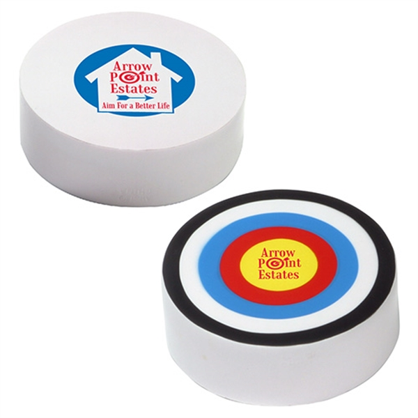 Imprinted Bullseye Stress Reliever