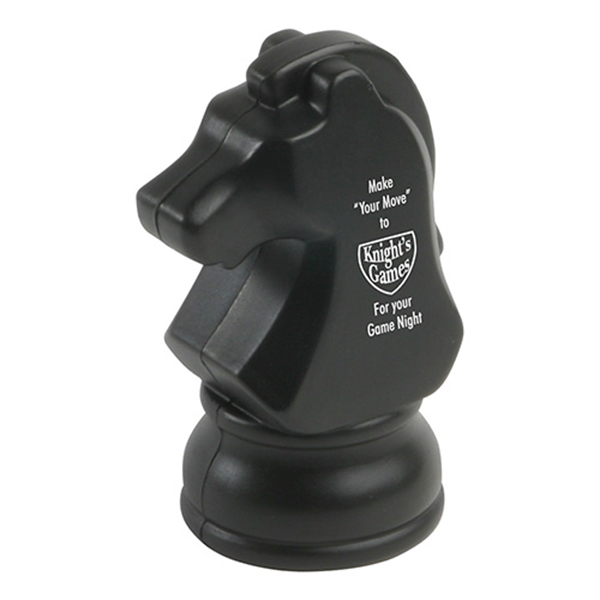 Promotional Knight Chess Piece Stress Reliever