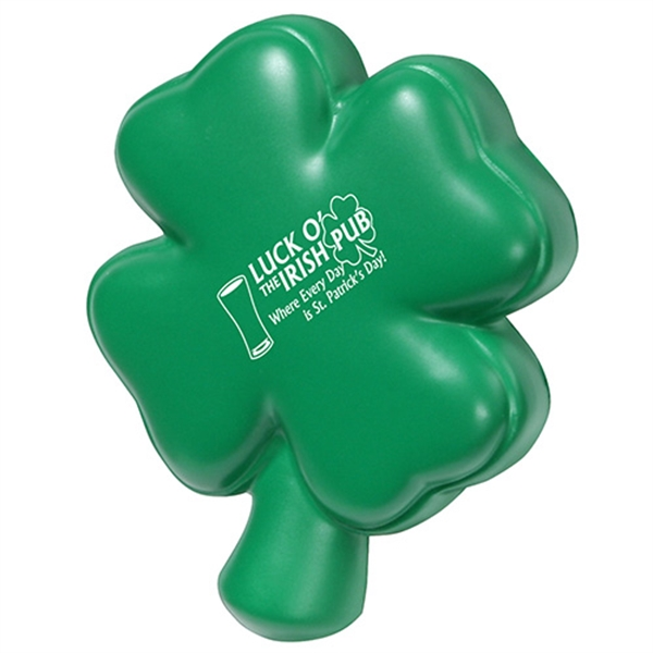 Promotional 4-Leaf Clover Stress Reliever