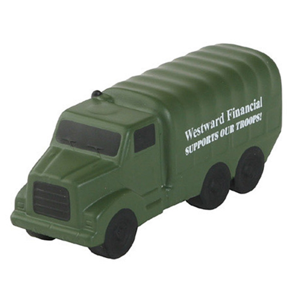 Printed Military Truck Stress Reliever