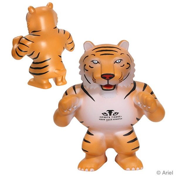 Customized Tiger Mascot Stress Reliever