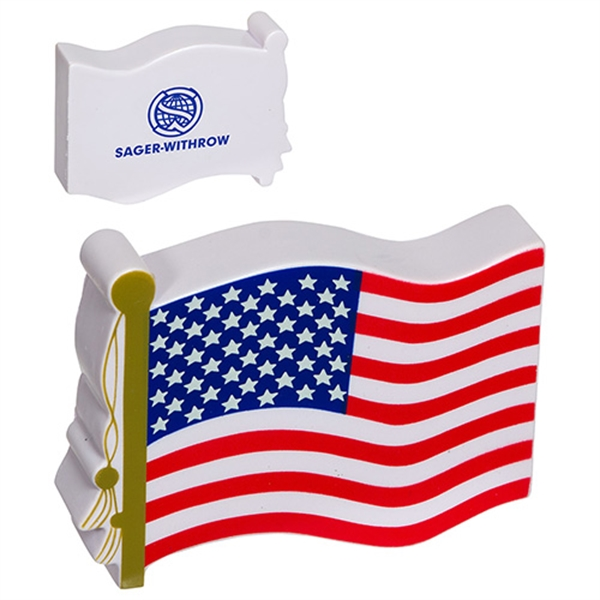 Personalized US Flag Stress Reliever
