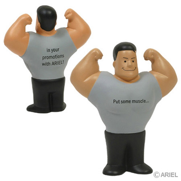 Custom Muscle Man Stress Reliever