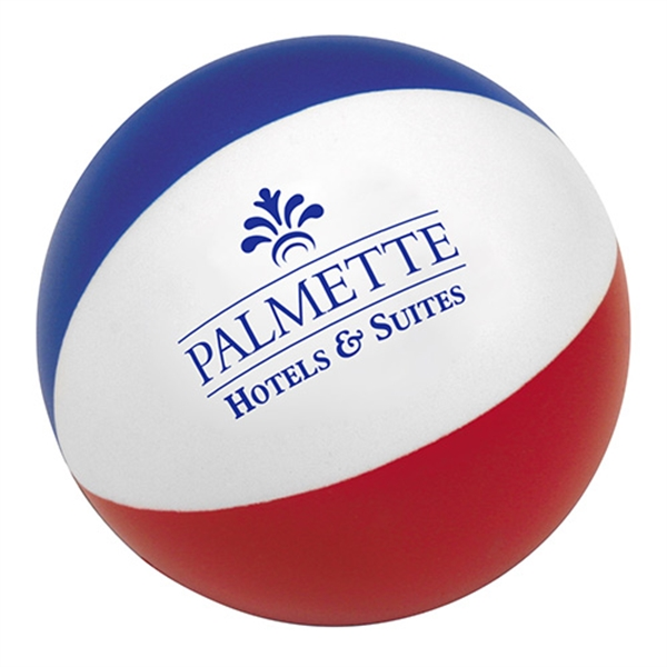 Customized Beach Ball Stress Reliever