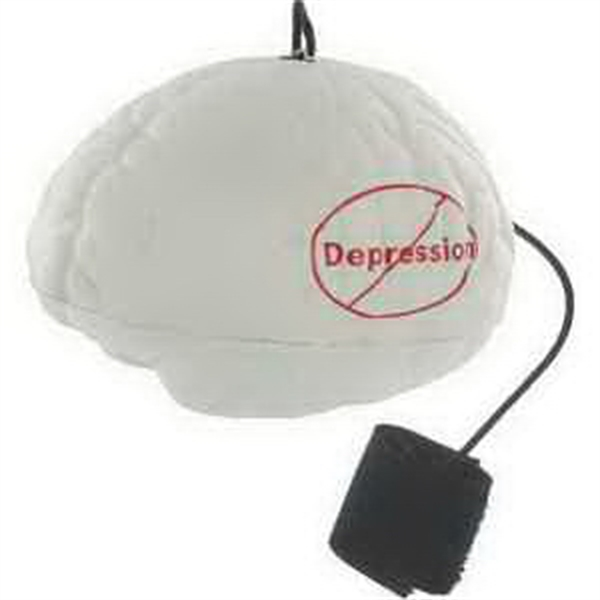 Customized Brain Yo-Yo Bungee Stress Reliever